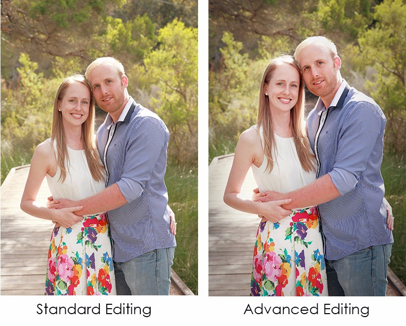 Advanced photo editing example