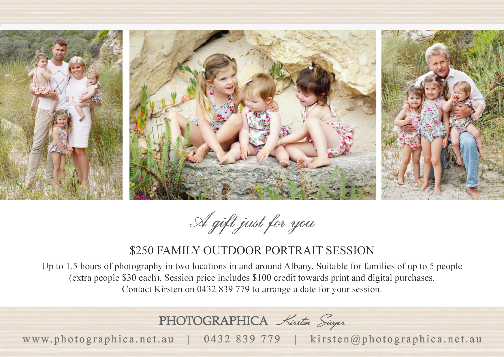 2018 Gift Certificate_family portrait session